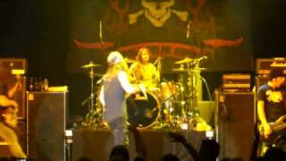 "Skid Row  Shiprocked Cruise 2009  playing ""Riot Act"""