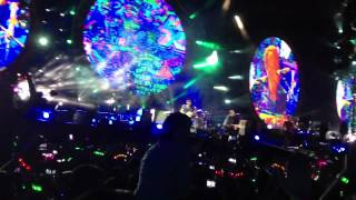 Coldplay - Paradise live in Paris 2012 HD