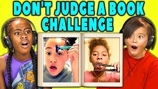 KIDS REACT TO VIRAL CHALLENGES (Don't Judge A Book By Its Cover)