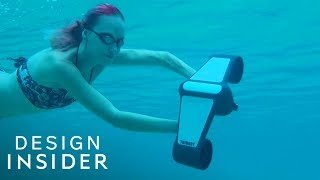 Explore The Ocean With This Underwater Scooter