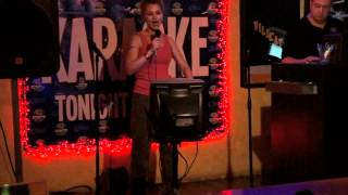 "Holly sings ""Get It While You Can"" (Janis Joplin) at Karaoke"