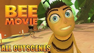 Bee Movie Game Movie ( All Cutscenes ) width=