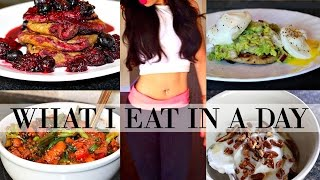 WHAT I EAT IN A DAY TO LOSE WEIGHT | LOW CARB, QUICK & EASY MEAL IDEAS!