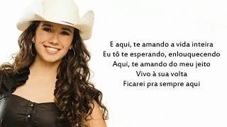 Paula -Fernandes  Cicatriz (Letra)