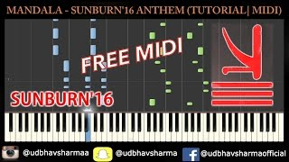 KSHMR & Marnik ft.Mitika - Mandala - TUTORIAL (FREE MIDI)