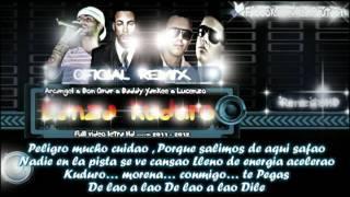 """Danza kuduro Remix "" Letra - Don Omar Ft Lucenzo Arcangel Daddy yankee new 2011"