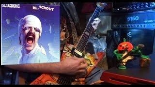 SCORPIONS BLACKOUT cover Mesa Boogie stiletto +Transatlantic TA-30