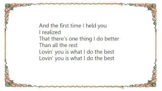 John Michael Montgomery - What I Do the Best Lyrics