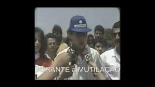 Ayrton Senna sugere que a curva em S de Interlagos fosse batizada como Chico Landi