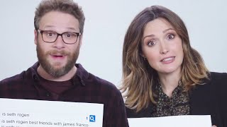 Seth Rogen & Rose Byrne Answer The Web's Most Searched Questions | WIRED