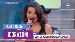 María José Quintanilla - Corazón - Mucho Gusto 2017