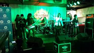 PANDORA PC & LAUNCHING DAY HARD ROCK CAFE KLHilang by Garasi band cover