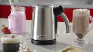 Tower Dual Function Hot and Cold Milk Frother - Tower