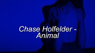 Chase Holfelder - Animal // lyrics en español e inglés