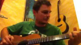 Peter Gosden on a Gosden Guitar
