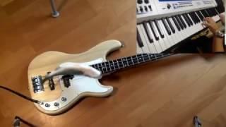 생선으로 베이스 친 위에 건반 치기 bass meets mass on keys  (inspired davie)   - 여운(Yun)
