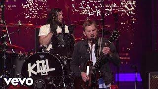 Kings Of Leon - Four Kicks (Live on Letterman)