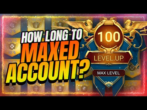 HOW LONG IT TAKES TO MAX YOUR ACCOUNT FULLY? | RAID Shadow Legends