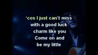 ELVIS GOOD LUCK CHARM,SUSPICIOUS MINDS,LET IT BE ME, Karaoke Medley