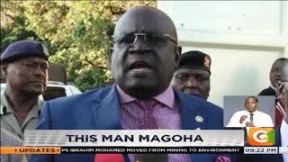 This man Prof George Magoha