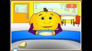I feed the Hungry Pumkin