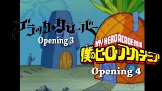 Black Clover Opening 3 Is Better Then My Hero Academia Opening 4