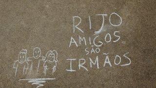 RIJO - AMIGOS SÃO IRMÃOS (Lyric Video)