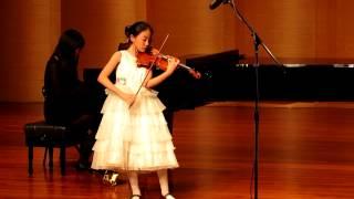 Failed Mozart Violin Concerto No.5 1st Mov.  (11 years old)