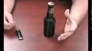 Como abrir uma tampinha de cerveja: com um isqueiro