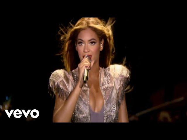 Video oficial de Beyoncé cantando en directo en concierto la canción de Halo en vivo