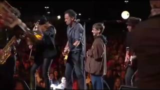 Bruce Springsteen The Boss and The Boy Glory days 2014 Dallas