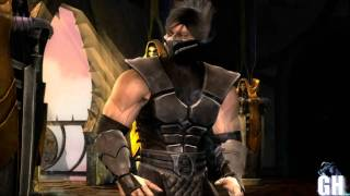 Mortal Kombat 9 Smoke Intro