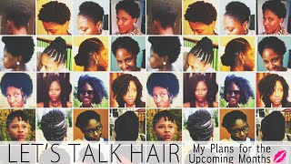 Hair Talk (My Plans For The Next Few Months) • Glamazini