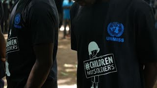 More than 200 child soldiers released in South Sudan