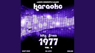 Don't Stop (In the Style of Fleetwood Mac) (Karaoke Version)