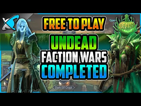 """""""F2P"""" UNDEAD Faction Wars COMPLETED !! 