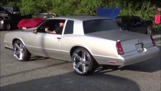 1987 Chevy Monte Carlo SS on 22's