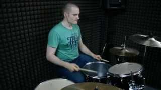 Alex Soldatov - Old Yellow Bricks (Arctic Monkeys drumcover)
