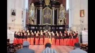"Emajõe Laulikud Albert Tay Laudate Dominum,  Krakow  ""Cracovia Cantans"" 2016"