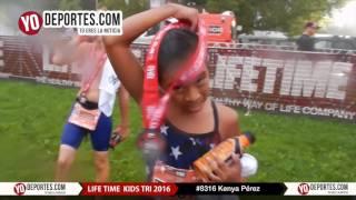 Kenya Perez Life Time Kids Tri 2016