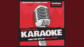 You Have the Right to Remain Silent (Originally Performed by Doug Stone) (Karaoke Version)