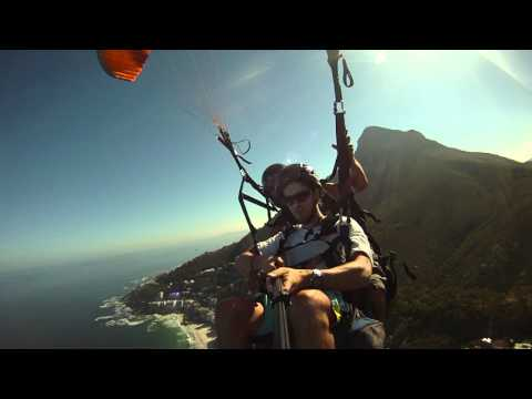 paraglide Lions Head South Africa