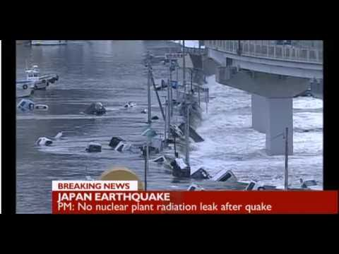 JAPAN EARTHQUAKE 8.9 MAGNITUDE & TSUNAMI MARCH 2011