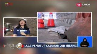 Penutup Saluran Air di Underpass Mampang Hilang, Petugas Pasang Pembatas Jalan - BIS 26/08