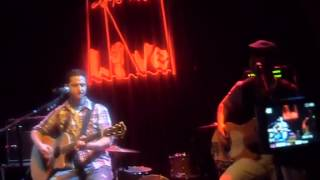 Boyce Avenue - Chasing Cars - World Cafe Live 2009