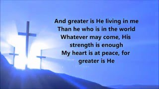 Blanca - Greater Is He (Lyrics)