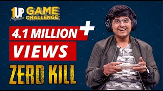 Zero Kill Challenge with MortaL | 1Up Game Challenge | PUBG Mobile
