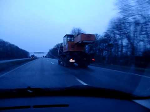 Roadtrip from Charkov to Kiev.