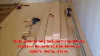 Pose de parquet cloué sur lambourdes www.maconnerie-martinez.fr