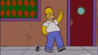 Homer Dancing To Ultra Sax Guy